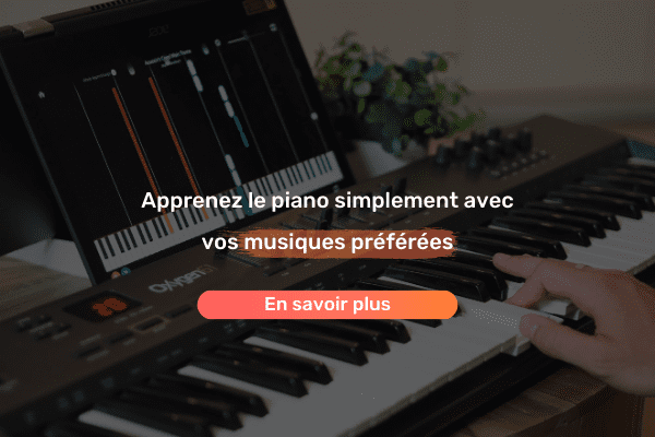 bannière mobile simply piano