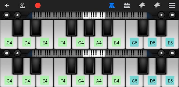 perfect piano learning app