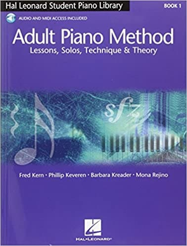 adult piano method book beginners