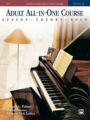 adult course alfred piano book beginner