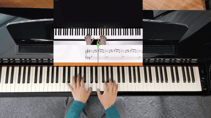 flowkey learning features piano