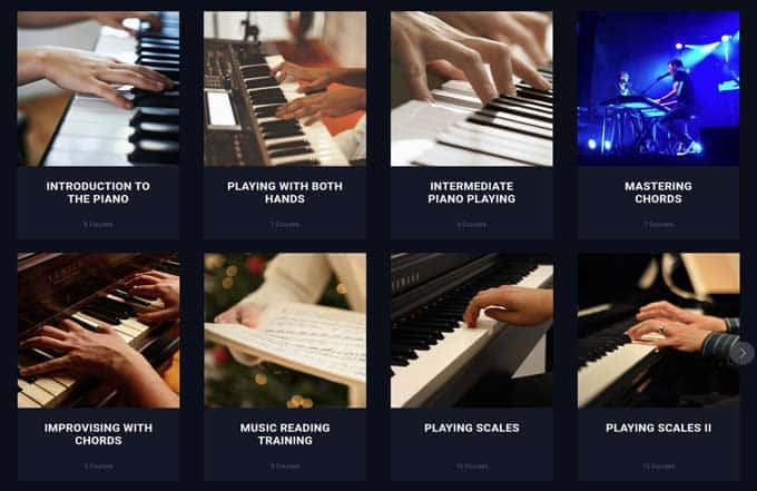 flowkey piano theory courses