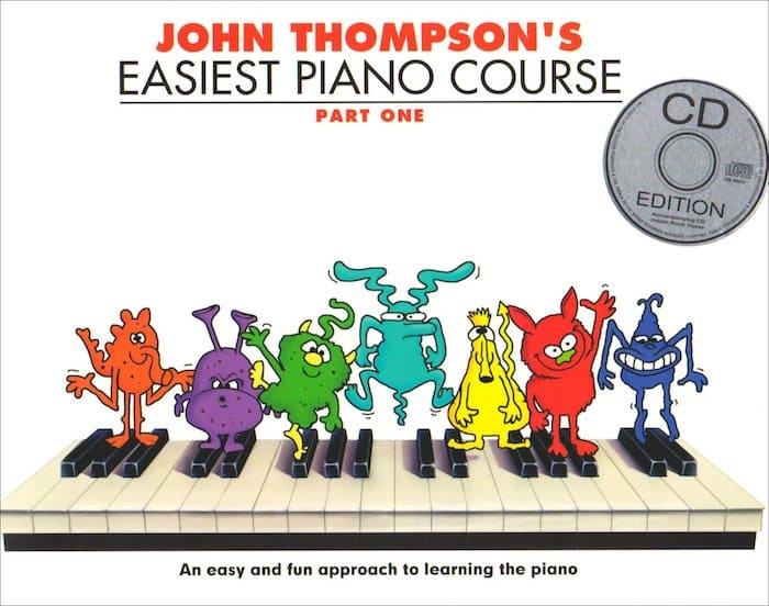 john thompson piano book beginners