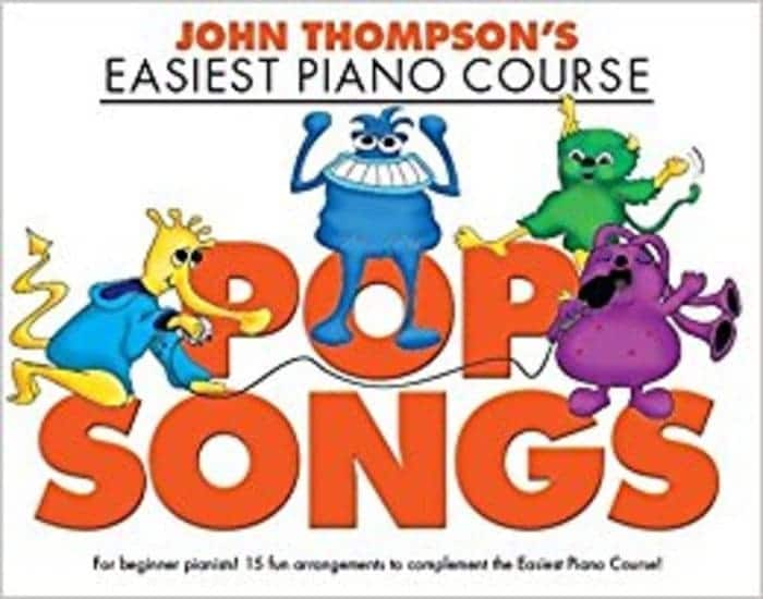 john thompson pop songs piano beginners