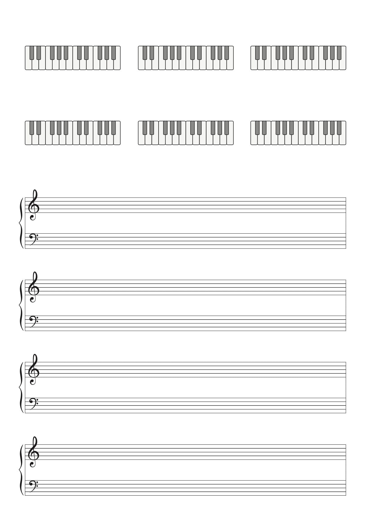 partitions diagrammes accords piano