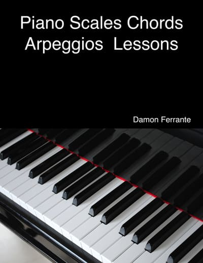piano scales chord arpeggios book for beginners