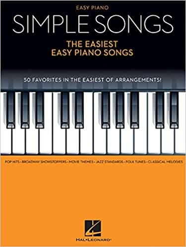 simple songs piano book beginners