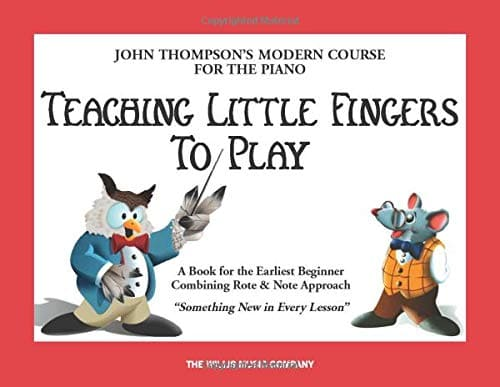 teaching little fingers piano book