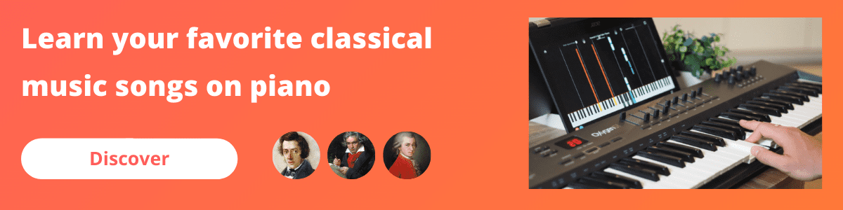 banner mobile classical music piano