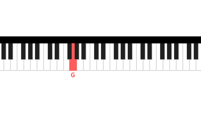 G jingle bells piano first note left hand