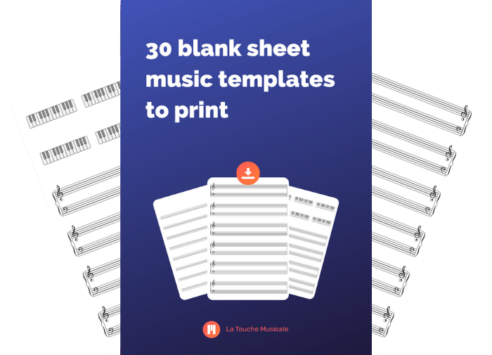free blank sheet music templates