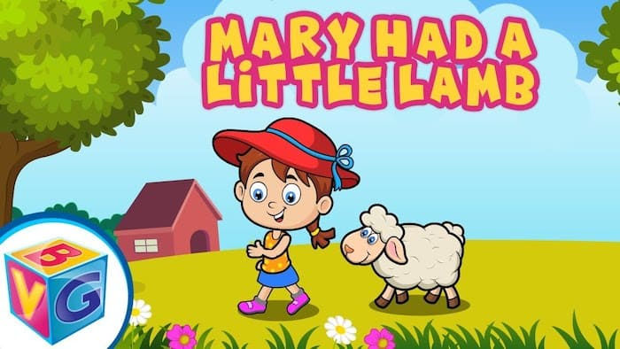 mary had a little lamb piano letters