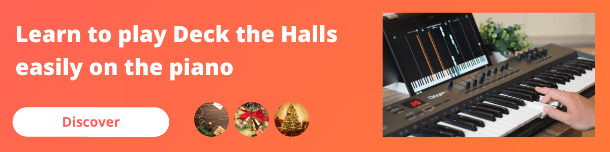 banner mobile deck the halls piano