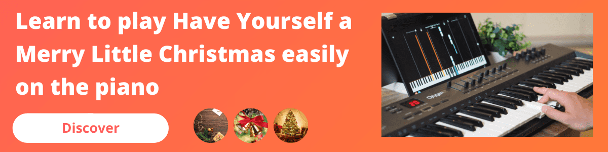 banner mobile have yourself a merry little christmas piano