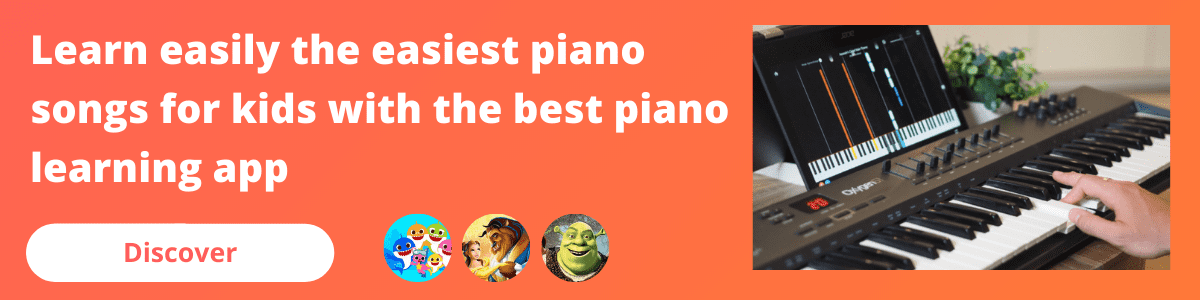 banner mobile piano songs for kids