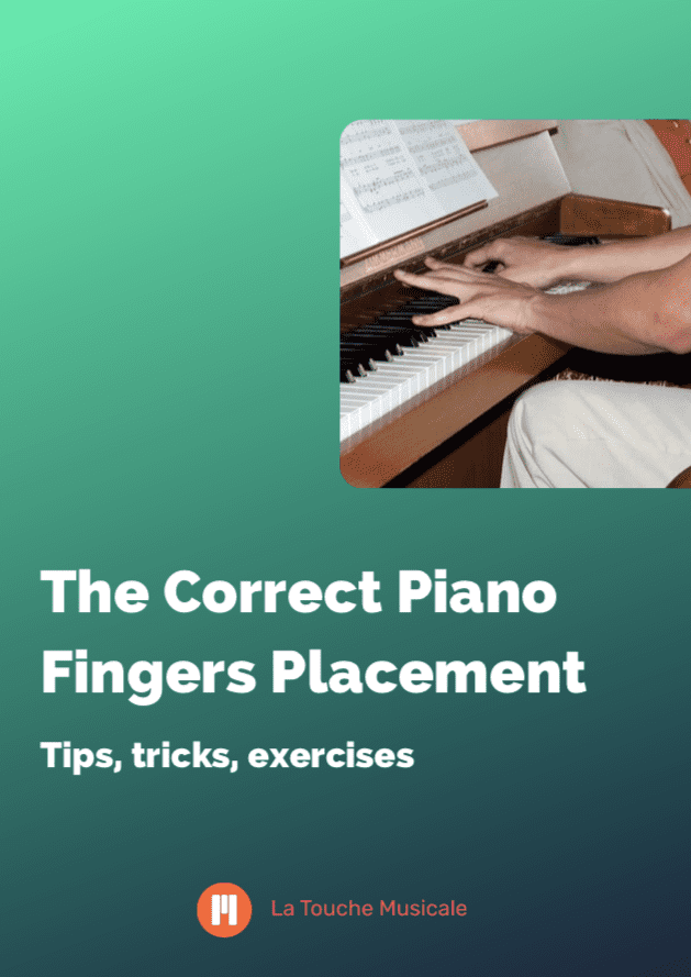 finger placement piano guide