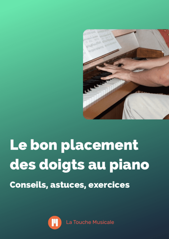 guide placement doigts piano